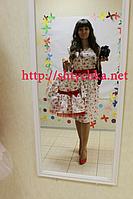Платья на маму и доченьку с шикарной натуральной ткани