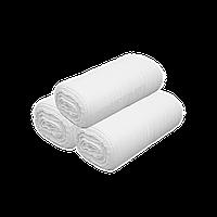 Вафельное полотно в рулоне, 45 см ширина 120 г/м2 плотность 60 м/рулон  ткань вафельная Узбекистан