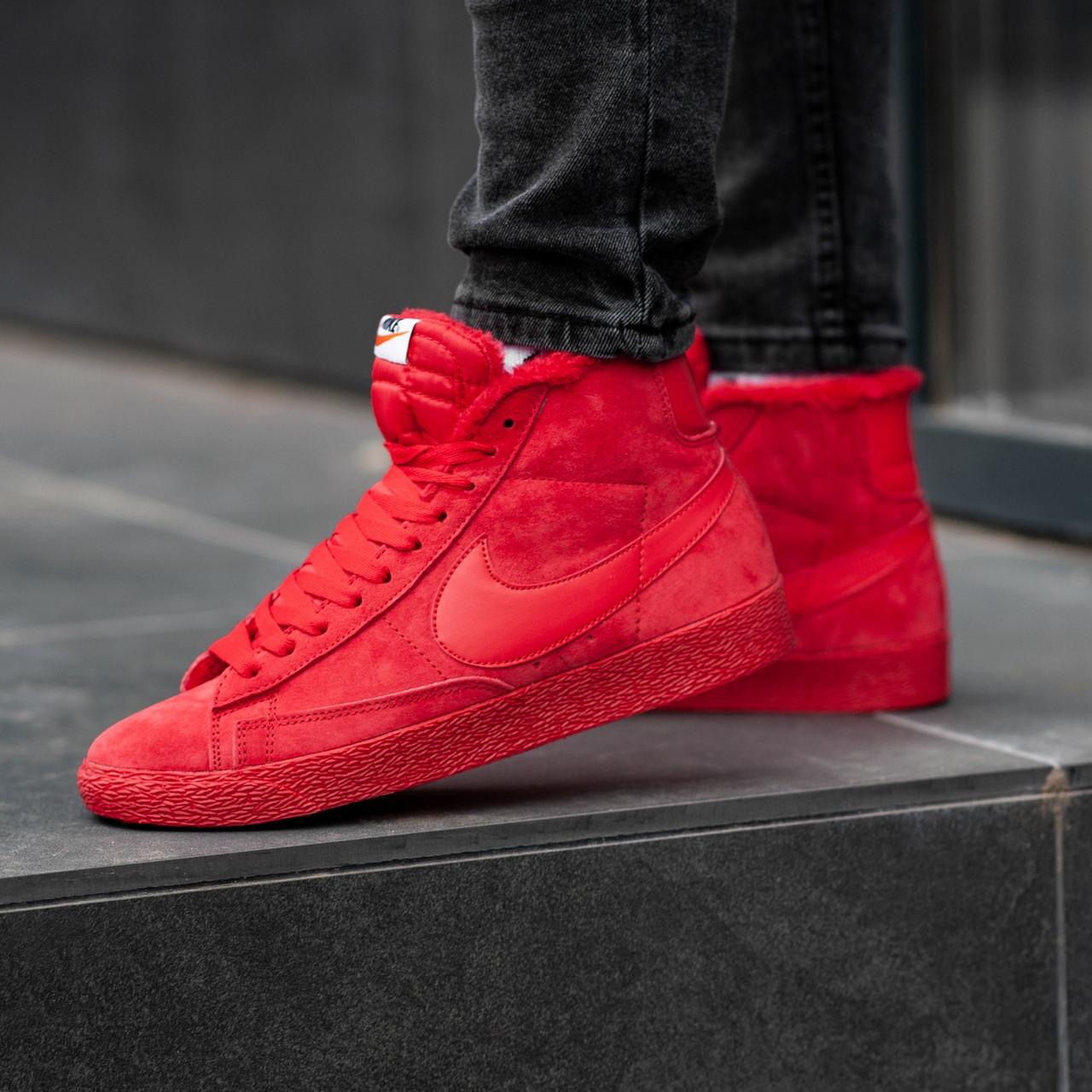 Зимние кроссовки Nike SB (НА МЕХУ). Найк на меху