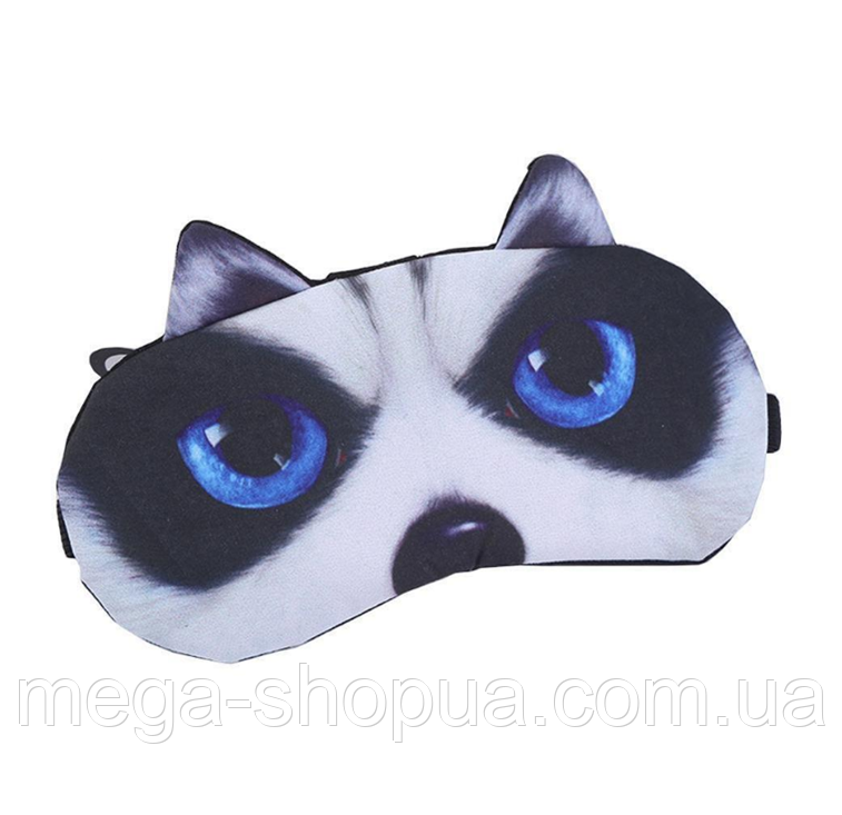 """Удобная и милая маска для сна """"3D Animal Faces - 4"""""""