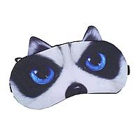 """Удобная и милая маска для сна """"3D Animal Faces - 4"""", фото 1"""