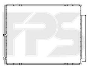 Радиатор кондиционера Лексус RX (2004-2008) / LEXUS RX (2004-2008)