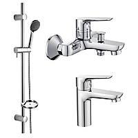 Набор смесителей для ванны Imprese kit20080 (3 в 1)