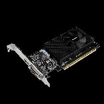Видеокарта GeForce GT730, Gigabyte, 2 Гб DDR5, 64-bit (GV-N730D5-2GL), низкопрофильная, відеокарта, фото 3