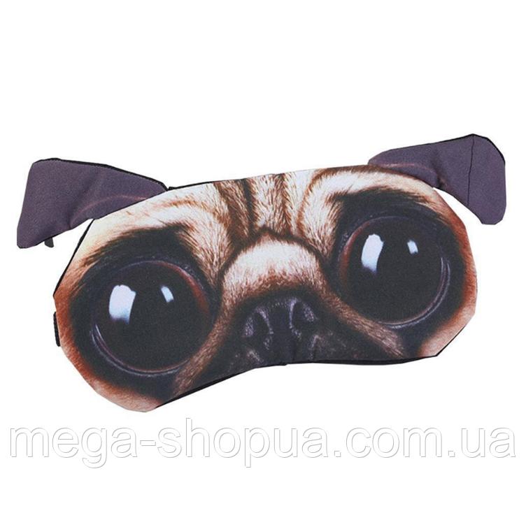 """Удобная и милая маска для сна """"3D Animal Faces - 6"""""""