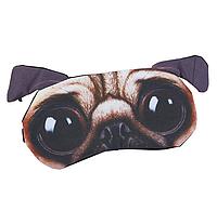 """Удобная и милая маска для сна """"3D Animal Faces - 6"""", фото 1"""