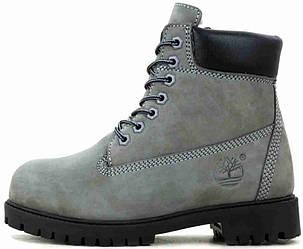 Мужские зимние ботинки Timberland Classic Boots 'Grey' с мехом