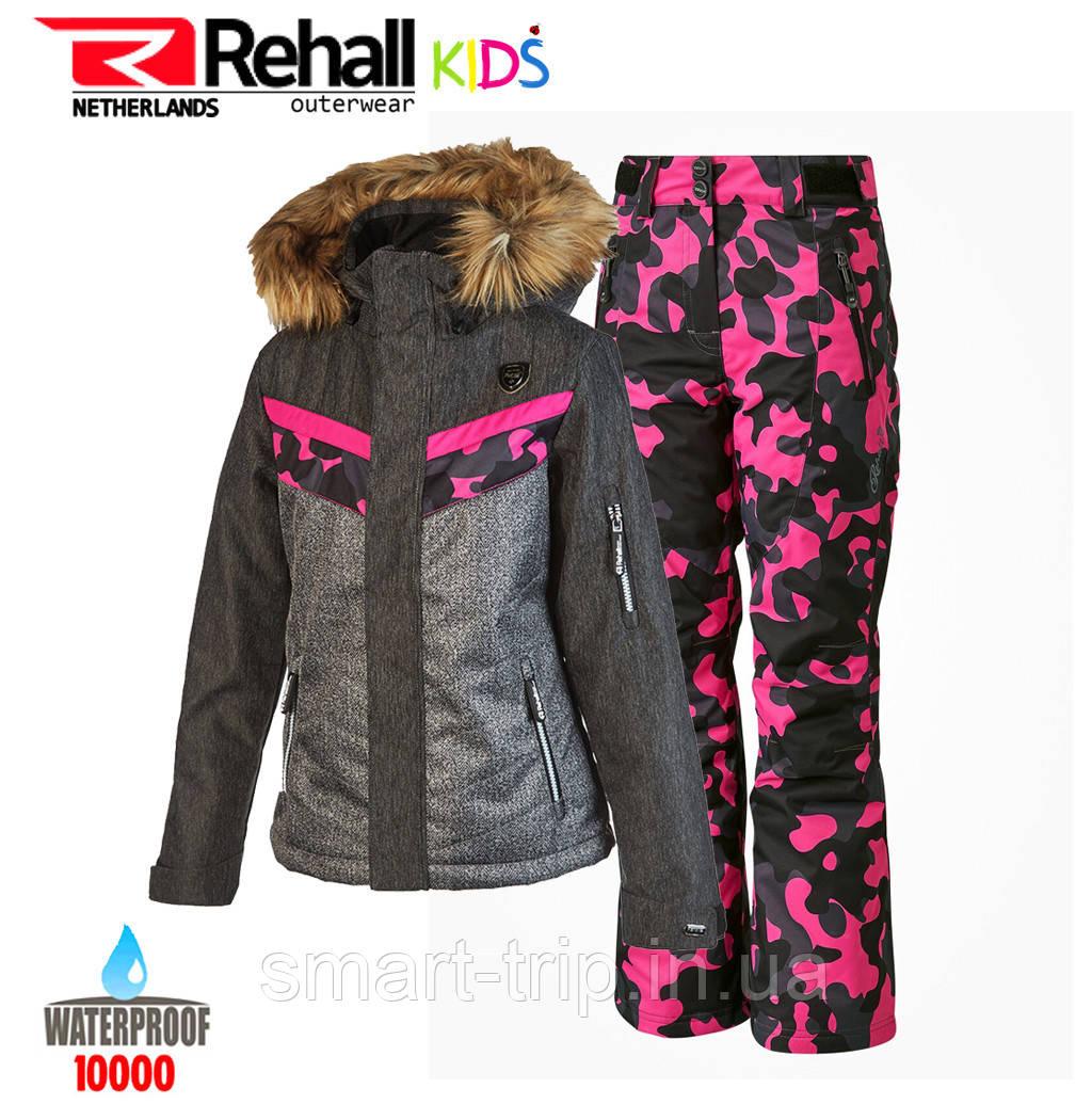 Детский горнолыжный костюм REHALL DARCY-R-JR 152 black BF (50481)