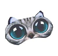 """Удобная и милая маска для сна """"3D Animal Faces - 7"""""""