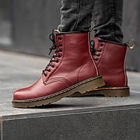 Зимние ботинки Мартинс DR. Martens (НА МЕХУ), фото 1
