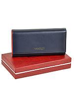Большой женский кожаный кошелек Color BRETTON W7237, фото 1