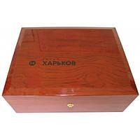 Электробритва Новый Харьков НХ 2012 «FANAT» (синий) коллекционная Gift в деревянной шкатулке