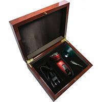 Электробритва Новый Харьков НХ 2012 «FANAT» (красный) коллекционная Gift в деревянной шкатулке