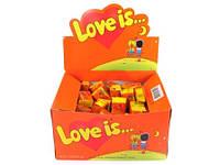"""Жевательная резинка """"Love is.."""" со вкусом апельсин-ананас"""