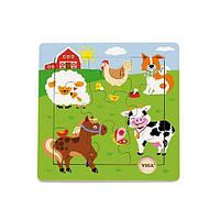 """Пазл Viga Toys """"Ферма"""" (50837)"""
