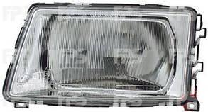 Левая фара Ауди 100 -91 h4 механическая регулировка кроме 200 / AUDI 100 C3 (1982-1991)