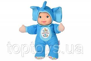 Лялька Baby's First Sing and Learn співай і вчися блакитний слоник (21180-1)