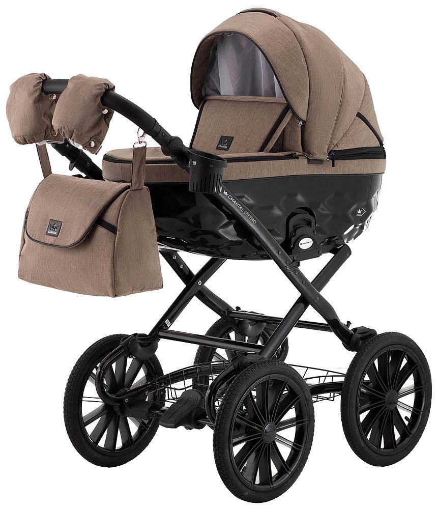 Дитяча класична коляска  Adamex 2 в 1 Chantal Retro C205