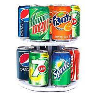 Органайзер для холодильника CAN TAMER | Подставка вращающаяся для банок и консерв