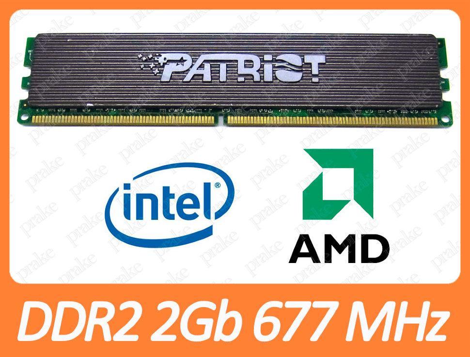 DDR2 2GB 667 MHz (PC2-5300) CL4 Patriot PEP22G5300LL
