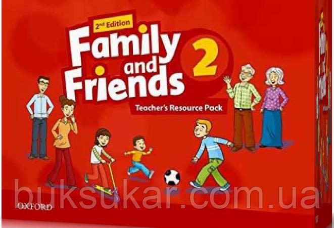 """Ресурсы для учителя Family and Friends 2nd Edition 2 Teacher""""s Resource Pack"""