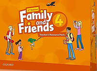 "Ресурсы для учителя Family and Friends 2nd Edition 4 Teacher""s Resource Pack"