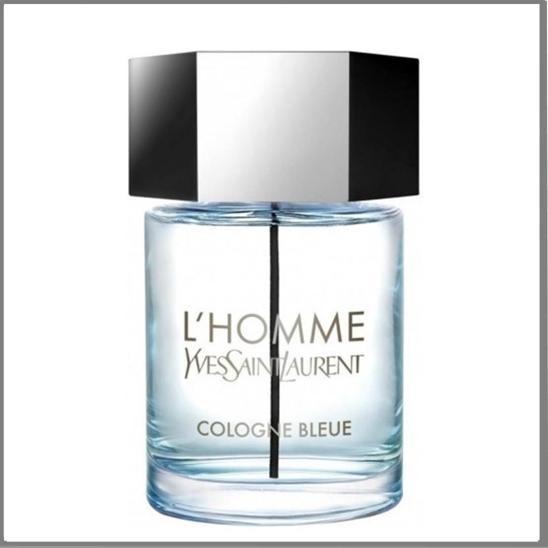 Yves Saint Laurent L'Homme Cologne Bleue туалетная вода 100 ml. (Тестер Ив Сен Лоран Л'Хом Колонь Блю)