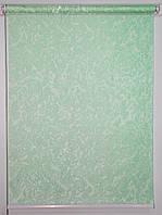Готовые рулонные шторы 675*1500 Ткань Miracle (миракл) Ментол 07, фото 1