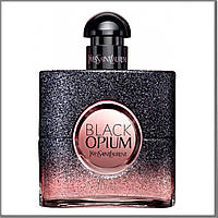 Yves Saint Laurent Black Opium Floral Shock парфюмированная вода 90 ml. (Тестер Ив Сен Лоран Блэк Флораль Шок)
