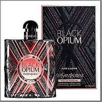 YSL Black Opium Pure Illusion парфюмированная вода 90 ml. (Ив Сен Лоран Опиум Пур Иллюзия)