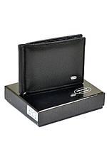 Кошелек кожаный мужской Classik DR. BOND MZS-3 black