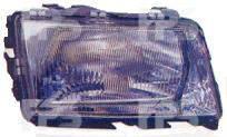 Левая фара Ауди 100 -94 механическая/электрическая регулировка h4 кроме s4 tdi / AUDI 100 C4 (1991-1995)