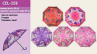 Зонт 3 вида, в п/э /60-2/(CEL-259/60)