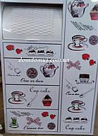 """Комод для кухни с хлебницей """"Lattt"""" """"Букет"""", Mobilgen, Турция"""