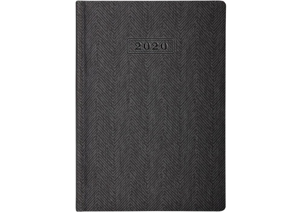 Ежедневник датированный TWEED, серый, А5