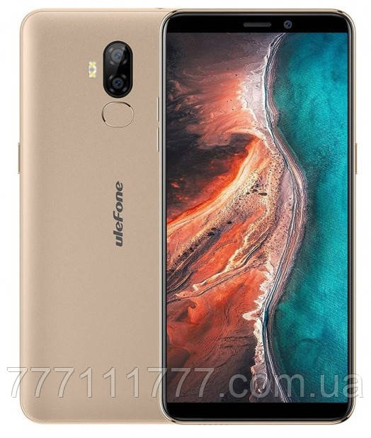 Смартфон UleFone P6000 Plus gold 3/32 гб