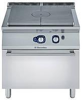 Плита газовая со сплошной поверхностью концентрического нагрева на жарочном газовом шкафу