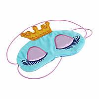 "Удобная маска для сна ""Princess Blue"", фото 1"