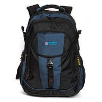 Большой городской рюкзак с плотной спинкой Power in Eavas 8518 на два отделения, фото 1