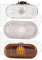 Левый (правый) указатель поворота Ниссан Примастар 07-14 на крыле белый без канта без лампы / NISSAN PRIMASTAR (2007-)
