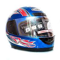 Шлем  интеграл синий, фото 1