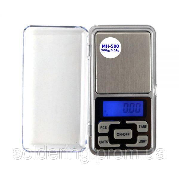Весы карманные Extools MH-500 (500g±0.01)