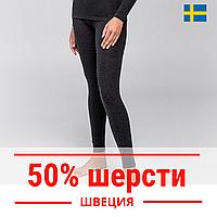 Термолеггинсы женские с шерстью, HETTA. Швеция, фото 1