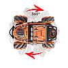 Трюковая машинка на радиоуправлении, вездеход Fever Buggy4WD 4x4 Оранжевый, фото 4