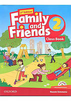 Учебник Family and Friends 2nd Edition 2 Class Book with MultiROM