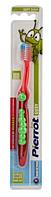 Зубная щетка Pierrot Гусеница, красный