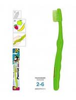 Зубная щетка Pierrot Пиви с ароматом фруктов, зеленый