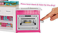Барби мега Кухня с куклой Barbie Ultimate Kitchen Cooking and Baking Delux (FRH73), фото 3