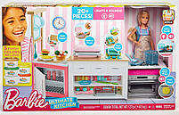 Барби мега Кухня с куклой Barbie Ultimate Kitchen Cooking and Baking Delux (FRH73), фото 2