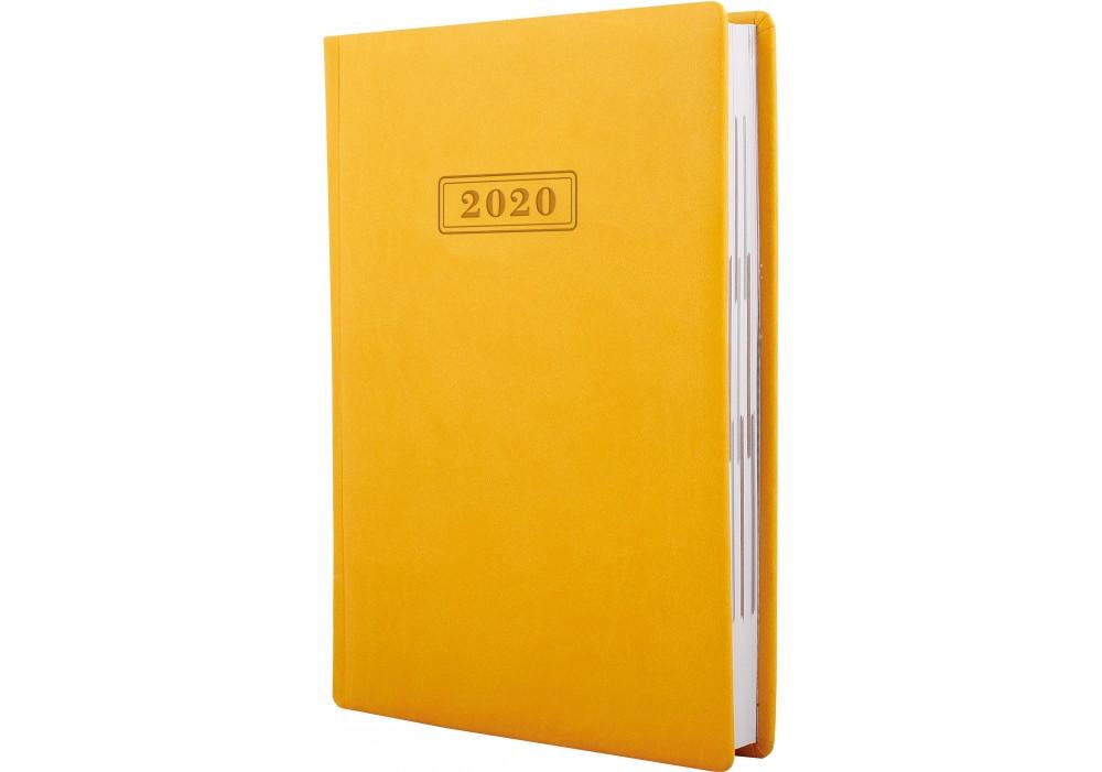 Ежедневник  датированный, VIVELLA, желтый, А5